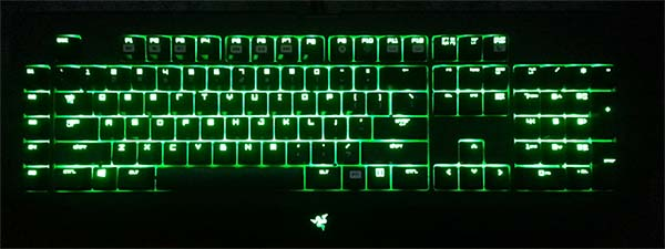 BlackWidow Ultimate Keyboard